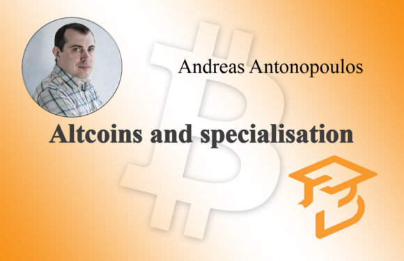 Altcoins and specialisation
