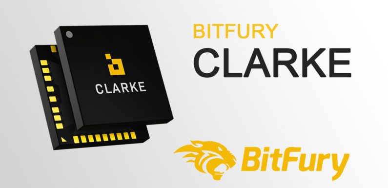 Bitfury has introduced a new chip for Bitcoin mining the Clarke ASIC
