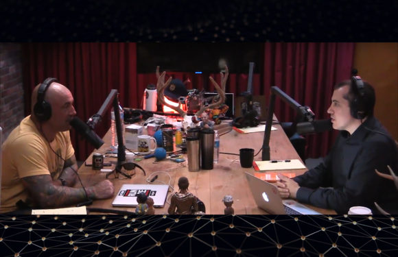 Joe Rogan and Andreas Antonopoulos Bitcoin