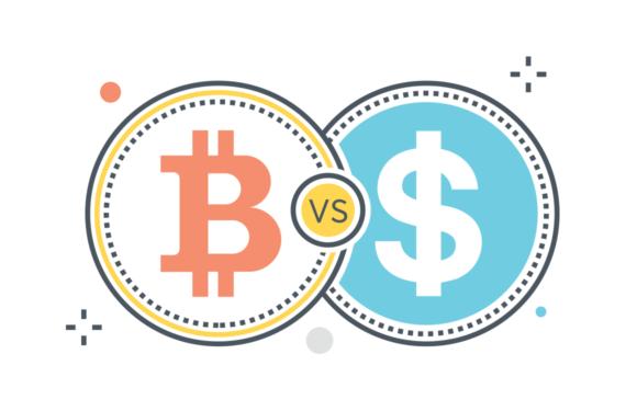 Як біткоїн замінить долар