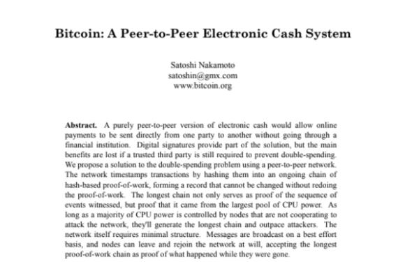 Bitcoin a paper 2008/10/31
