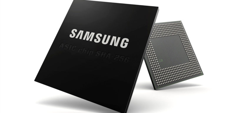 Samsung will create ASIC chips for bitcoin mining using 10nm technology