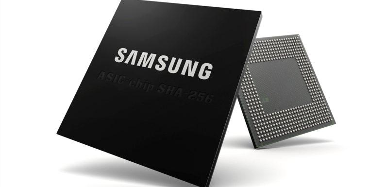 Samsung створить ASIC чіпи для майнінгу bitcoin за технологією 10nm